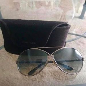 Tom Ford Sunglasses with Tom Ford case
